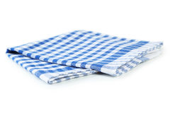 Blue napkin Royalty Free Stock Photography
