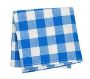 Blue napkin Stock Photos