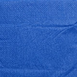 Blue napkin paper Stock Photos