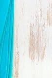 Blue napkin Royalty Free Stock Image