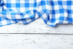 Blue napkin Royalty Free Stock Photos