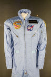 Blue NASA uniform Stock Images