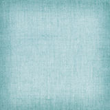 Blue natural linen texture for the background Stock Photo