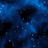 Blue nebula Royalty Free Stock Photos