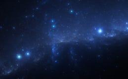 Blue Nebula Stock Photo