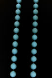 Blue necklace Stock Image