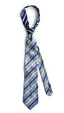 Blue necktie Stock Images