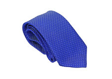 Blue Necktie Stock Photography