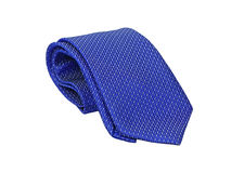 Blue Necktie Royalty Free Stock Photography