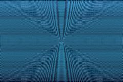 Blue neon halftone absract background. Hypnotic optical illusion texture. Glitch effect pattern.  stock illustration