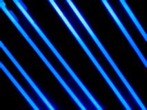 Blue neon tubes in dark royalty free stock photos