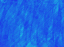 Blue neon wallpaper Royalty Free Stock Photos