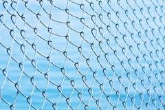Blue net background Stock Photo