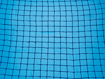 Blue Net  Background Stock Photo