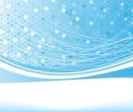 Blue net concept banner Stock Images