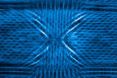Blue net and round background Royalty Free Stock Images