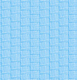 Blue netting abstract pattern. Seamless chequered background Royalty Free Stock Photo
