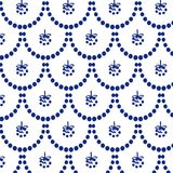 blue new year pattern royalty free stock photography