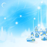 Blue New Years background Stock Image