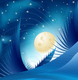 Blue Night Stock Image