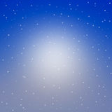 Blue night sky filled Royalty Free Stock Photo