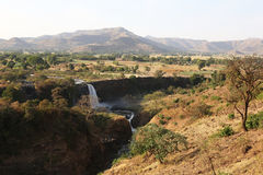 Blue Nil fall in Ethiopia Royalty Free Stock Photography