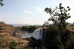Blue Nile Falls Stock Photography