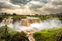 Blue Nile Falls, Tis Issat, Ethiopia, Africa Royalty Free Stock Images