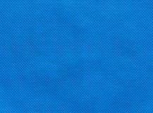 Blue nonwoven fabric background Stock Image