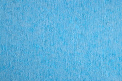 Blue nonwoven fabric background Royalty Free Stock Photos