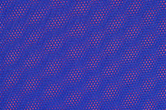 Blue nonwoven fabric on a red Royalty Free Stock Photography