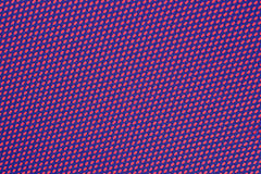 Blue nonwoven fabric on a red Royalty Free Stock Image
