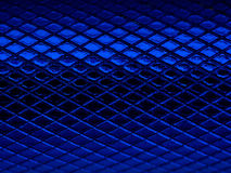 Blue notching metalic texture Royalty Free Stock Photography