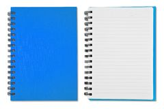 Blue Note Book Royalty Free Stock Image