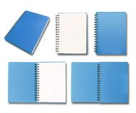 Blue note book Royalty Free Stock Photo