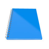 Blue notebook Stock Image