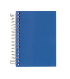 Blue Notebook Isolated On White Royalty Free Stock Image