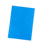 Blue notebook. Isolated on white Stock Images