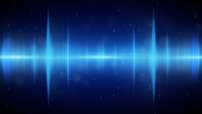 Blue nothern lights abstract background royalty free illustration