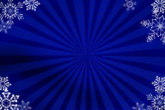 Blue NY background. My illustration in photoshop. This illustration for design postcard on new year celebration Stock Photography