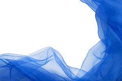 Blue nylon Stock Photo