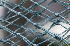 Blue nylon mesh Royalty Free Stock Photos