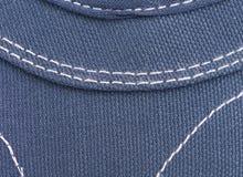 Blue nylon texture Stock Photo
