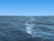 Blue ocean Royalty Free Stock Images