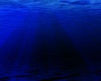 Blue ocean Royalty Free Stock Image
