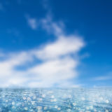 Blue ocean background Royalty Free Stock Photo