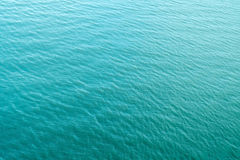 Blue ocean. For background texture Royalty Free Stock Photos