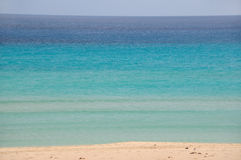 Blue ocean and beach Stock Image