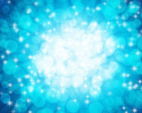 Blue ocean bokeh background Stock Photo