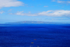 Blue Ocean Maui, Hawaii Stock Image